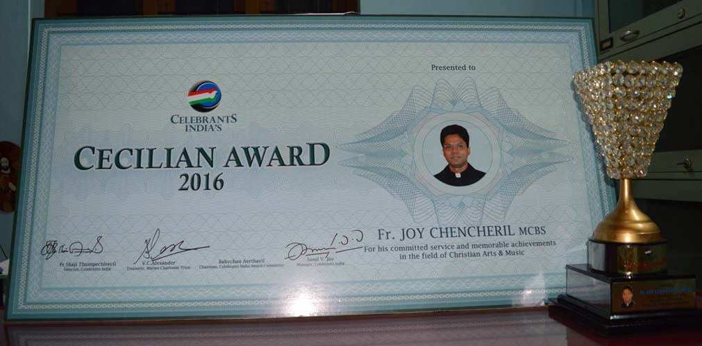 Hearty congratulations to Rev Fr Joy Chencheril | MCBS